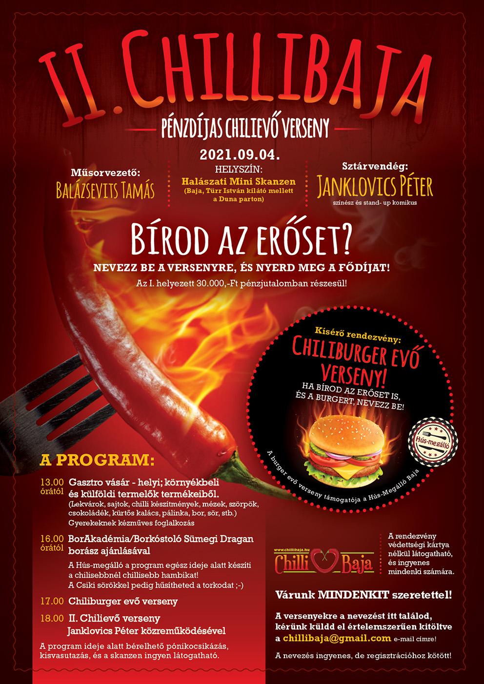 Jön a II. chili evő verseny!